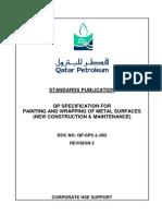 QP-SPC-L- 002 Rev 2 , 16-05-2013