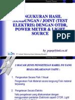 Latihan Test OTDR & TSB