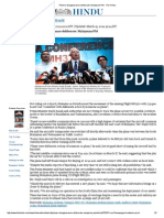 Plane's Disappearance Deliberate_ Malaysian PM - The Hindu