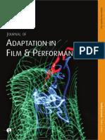 HAND, Richard J; KREBS, Katja (Eds.). Journal of Adaptation in Film and Performance - Volume 1 Issue 2