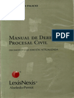26056363 Manual de Derecho Procesal Civil Lino Enrique Palacio