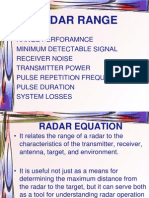 Unit 7 Radar Equation