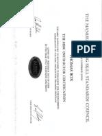 mssc certified instructor