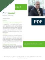 Dennis Jackson, PCG Education Subject Matter Expert