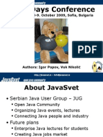 Java2Days Conference Overview
