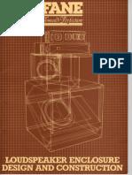Fane Loudspeaker Construction Book (Pages 01 11)