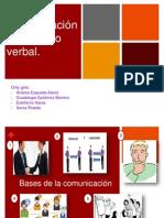 Comunicación verbal y no verbal.