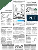 Boletim Informativo - 18 de outubro de 2009