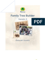 Family Tree Builder User Guide 4.0 Spanish