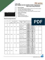 Rg Rm Rgh Datasheet
