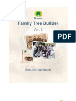 Family Tree Builder User Guide 4.0 Deutsch