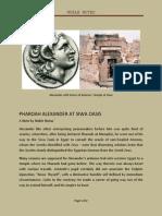 Pharaoh Alexander at Siwa Oasis
