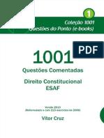 1001 - Questoes Comentadas - Direito Constitucional - ESAF