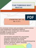 Bahan Ajar Etnobotani (Tumb. Obat)