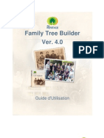 Family Tree Builder User Guide 4.0 French