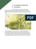 Complejo Residencial Sustentable_Morfearch