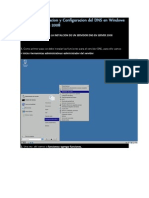 Manual de Instalacion y Configuracion Del DNS en Windows Server Enterprise