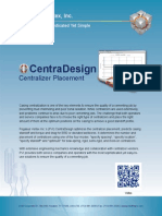 CentraDesign | Centralizer Placement Software