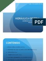 1. Introducción a la Hidráulica (Teoría)