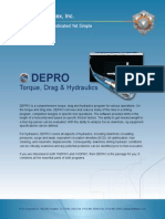 DEPRO   Torque, Drag and Hydraulics Software