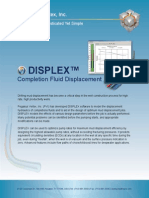 DISPLEX | Completion Fluid Displacement Software