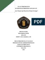 Tugas TPAH_Produksi Jamur Agen Hayati Dan Patoser