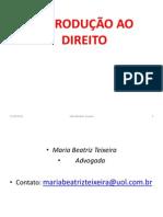 Introducao Ao Direito i 2014