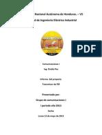 Informe Proyecto de Comunicaciones