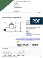 Circuito Transmissor de AM usando 555 - Eletrônica e Circuitos