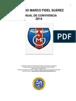 Manual Convivencia 2014 ACTUALIZADO