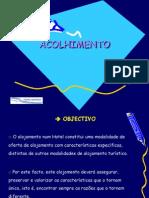 ACOLHIMENTO e Check in Clientes