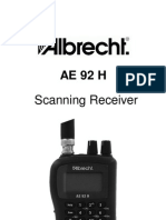 Albrecht AE92H Manual
