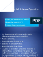 Elementos Del Sistema Operativo