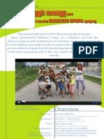 High Energy 2014 Short-term EVS, Hungary - Information Letter