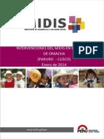 Intervencion de MIDIS en Omacha - Cusco