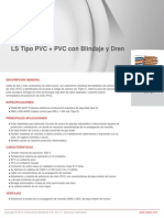 LS Tipo PVC + PVC Con Blindaje y Dren
