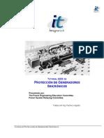 Tutorial IEEE Proteccion Generadores Español