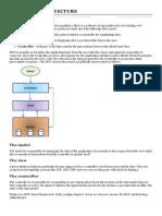 Basic Mvc Architecture
