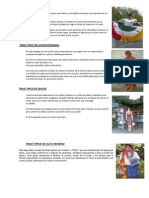 Traje Tipico de Peten Traje Tipico de Huehuetenango