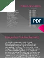 Toksikodinamika PPT