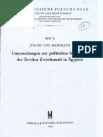 Von Beckerath, Zweiten Zwischen 1965Hyksos