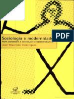 Sociologia e Modernidade - José Maurício Domingues