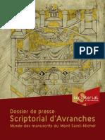 le Scriptorial d'Avranches - dossier de presse - juin 2006