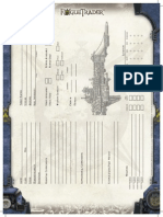 Rogue Trader Ship Sheet