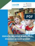 Educaţia incluzivă în grădiniţă