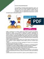 IMPORTANCIA DE LA DIDÁCTICA EN LA EDUCACIÓN PREESCOLAR