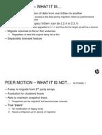 P10000 3PAR Peer Motion