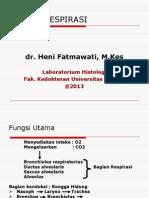 Kuliah 2. Histologi Sistem Respirasi (Dr. Heni)