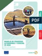 Manejo de praderas altoandinas y cosecha de agua en el sur andino