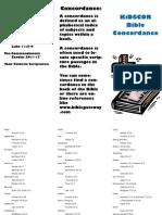 KiDSCOR Bible Concordance